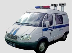 "АПК ""ПОТОК-М"" размещается на базе микроавтобуса"
